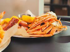 Waterfront crab legs