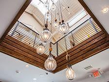 Waterfront chandelier