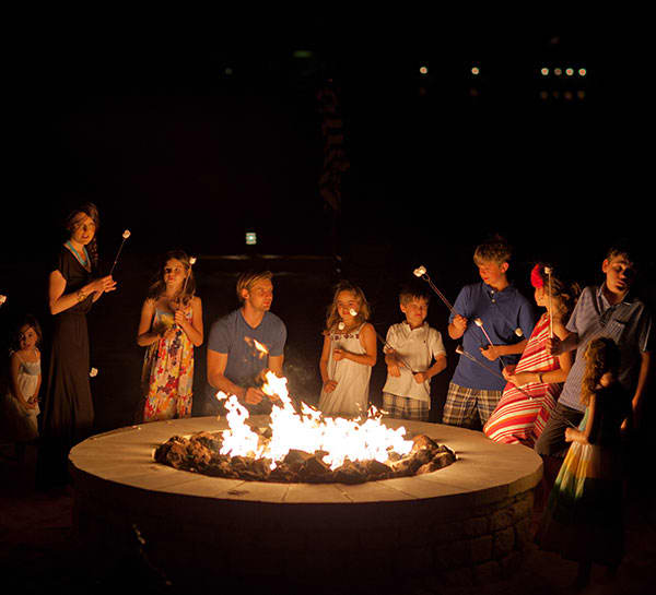 Nightly S'mores of Horseshoe Bay Resort
