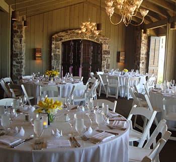 Indoor Weddings Spaces of Horseshoe Bay Resort