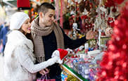 Festive Things to Do in Boston - Holiday Shopping Market at City Hall Plaza