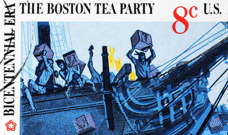 How did the Boston tea Party start?