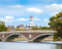Harvard University at Boston, Massachusetts