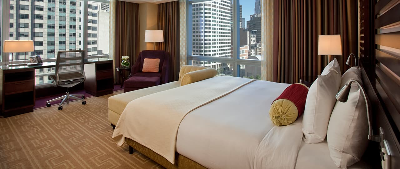 1 King Bed Premier City View at Intercontinental Boston