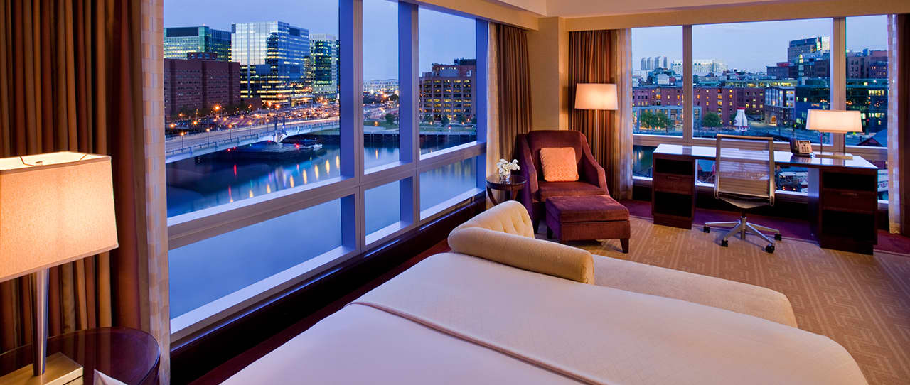 1 King Bed Water View by Intercontinental Boston
