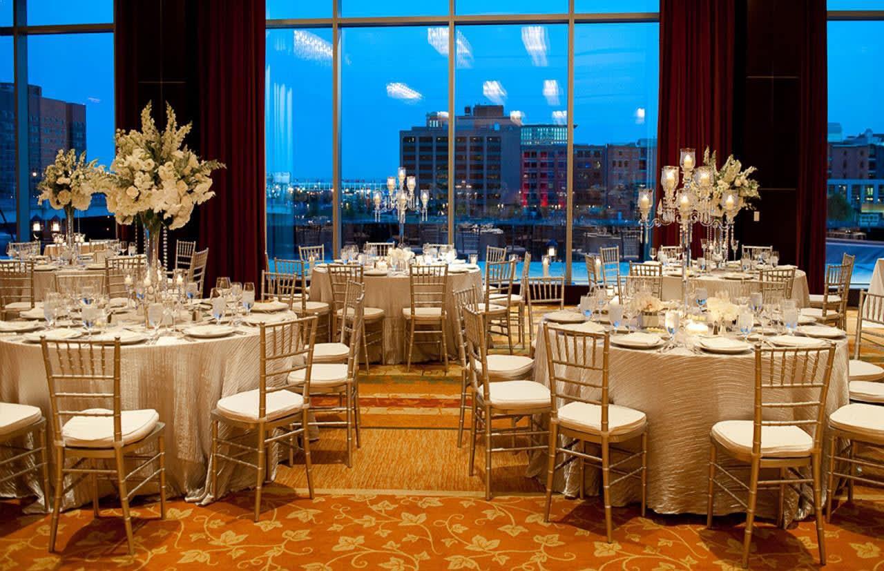 Wedding at Intercontinental Boston, MA