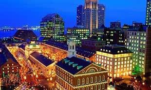 Boston, Massachusetts Faneuil Hall Marketplace