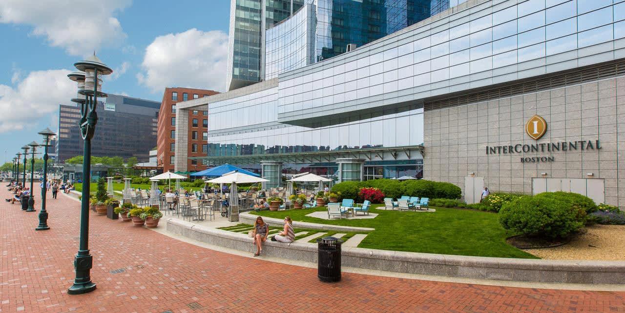 Location of Intercontinental Boston, Massachusetts
