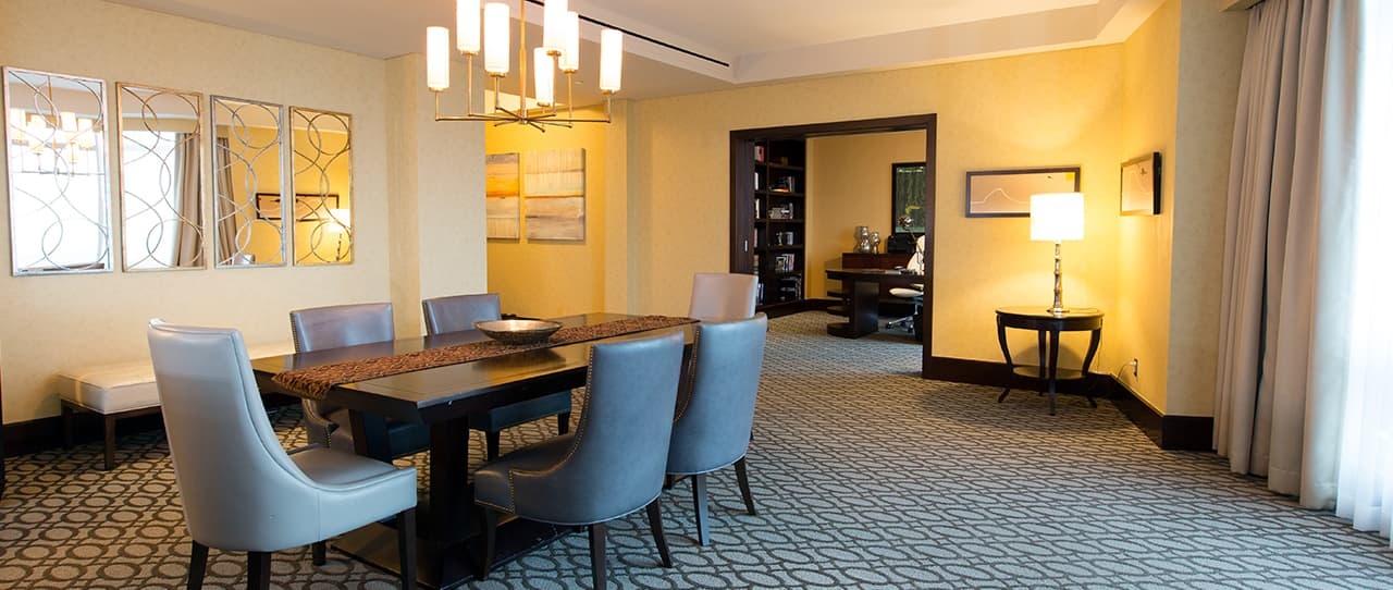 Presidential Suite at Intercontinental Boston