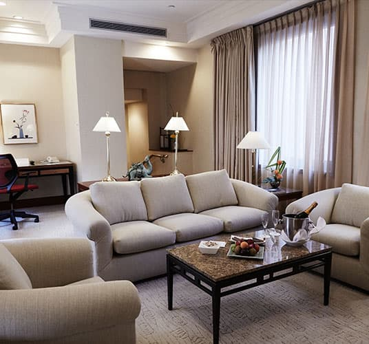 Townhouse Suite in The Kitano Hotel New York Hotel