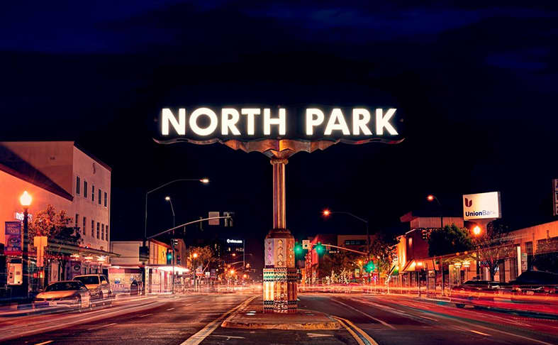 North Park in San Diego, California