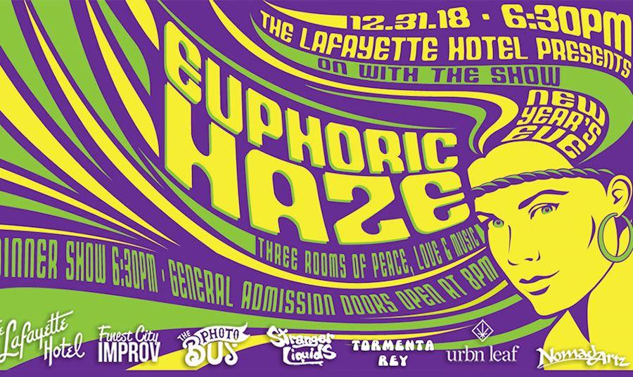 NYE 2018 Event Euphoric Haze