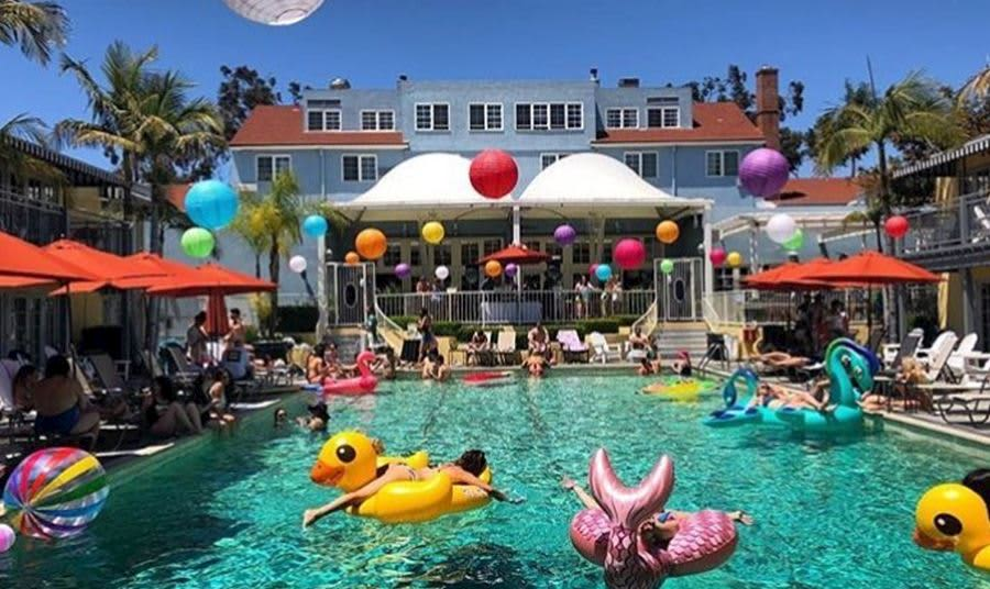 Pool Events at The Lafayette