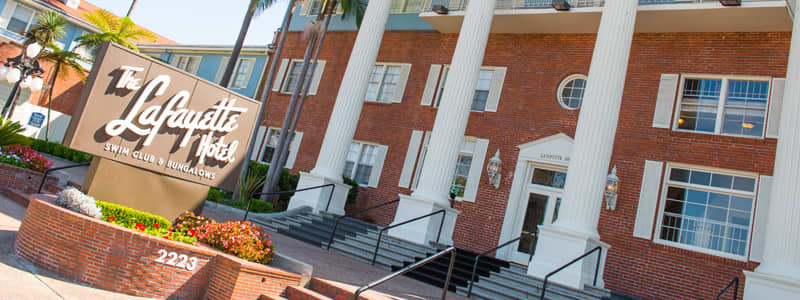 The Lafayette Hotel, Swim Club & Bungalows Email Offer