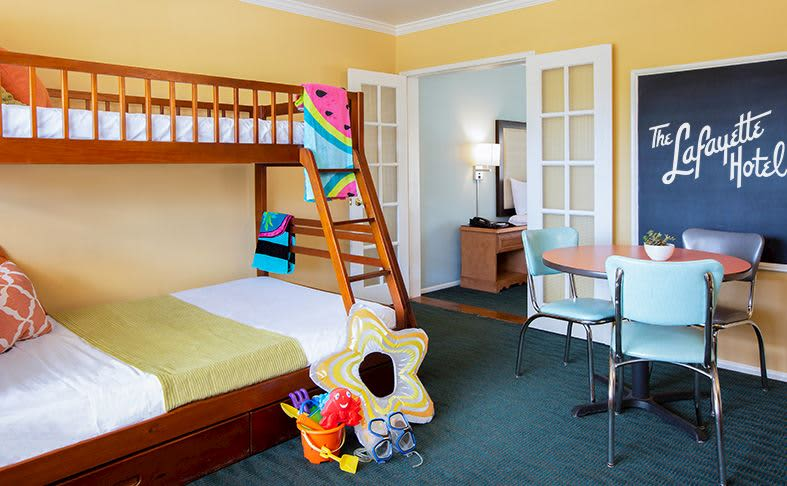 Suze Suite at The Lafayette Hotel, Swim Club & Bungalows