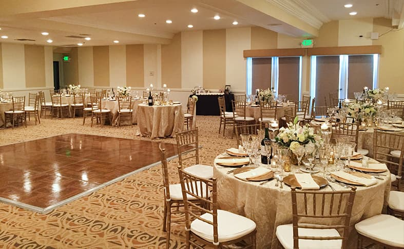 Louisiana Ballroom at San Diego, California Hotel