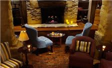 Lambertville Station Restaurant and Inn - Wine Cellar with Fireplace