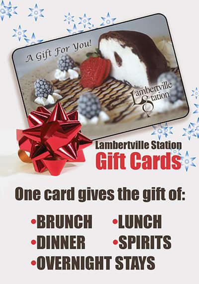 Lambertville Station Restaurant and Inn Gift Cards