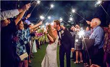La Valencia Hotel Weddings - Sparkler Exit