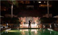 La Valencia Hotel Weddings - Nighttime at La V