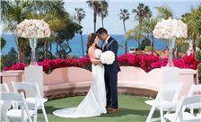 La Valencia Hotel Weddings - The Garden