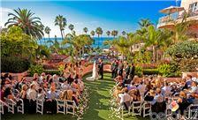 La Valencia Hotel - Outdoor Ceremony