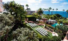 La Valencia Hotel - Outdoor Wedding Setup