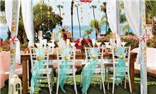 La Valencia Hotel - Outdoor Wedding Table