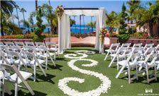 La Valencia Hotel - Wedding Ceremony