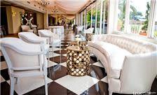 La Valencia Hotel Weddings - Verandah as a Lounge