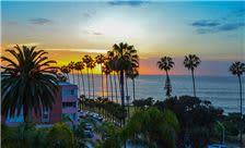 La Valencia Hotel - Sunset