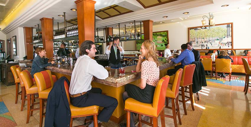 Café La Rue of La Valencia Hotel and Spa, La Jolla