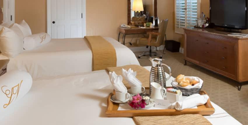 In Room Dining La Valencia Hotel and Spa La Jolla