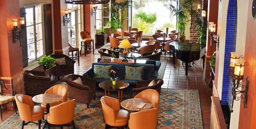 La Sala of La Valencia Hotel and Spa, La Jolla