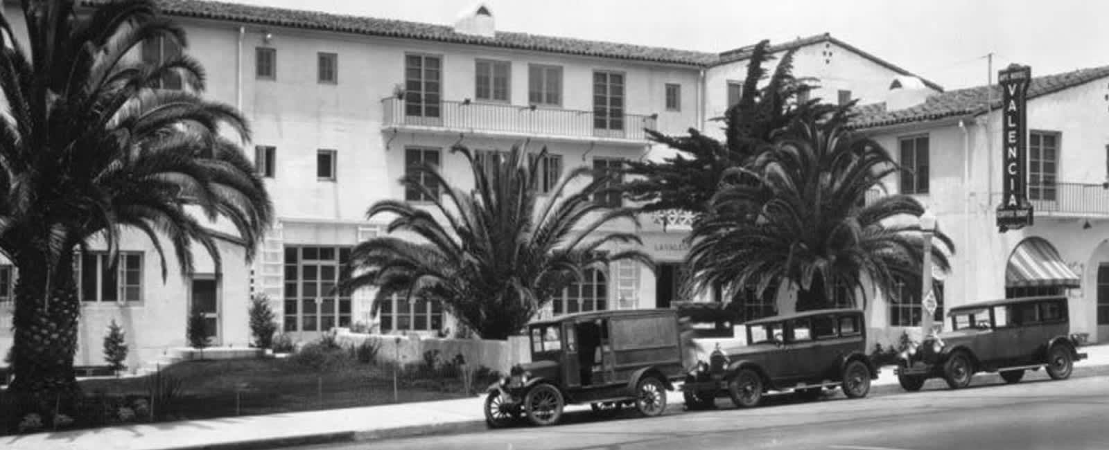 History of La Valencia Hotel California