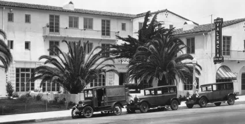 History of La Valencia Hotel La Jolla