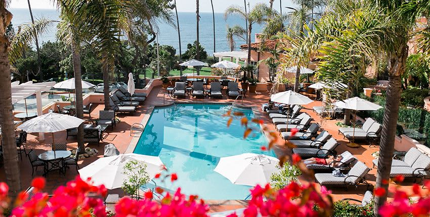 Amenities of La Valencia Hotel and Spa, La Jolla