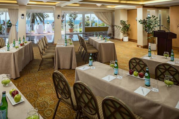 Veranda Ballroom, Salon and Terraza at La Valencia Hotel and Spa California