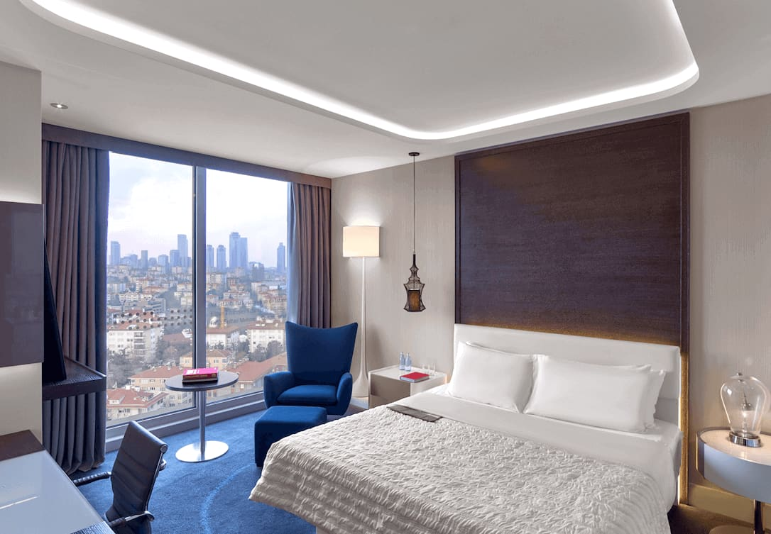 Oda | Deluxe | Otel | İstanbul Otel | Le Méridien