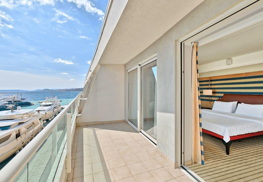 Deluxe soba s pogledom na Marinu ili park