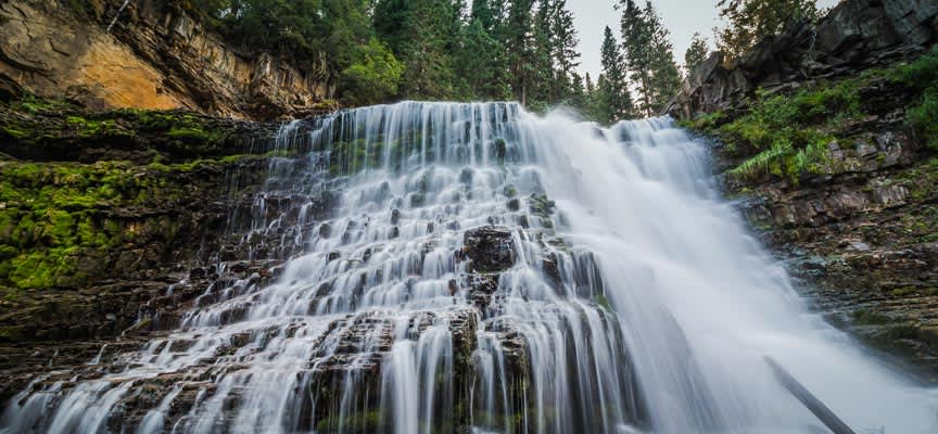 Ousel Falls Trail at Big Sky, Montana