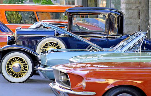 Audrain Car Museum In Newport, Rhode Island
