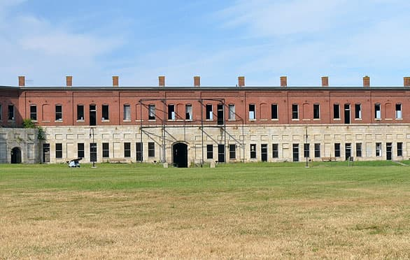 Fort Adams State Park In Newport, Rhode Island