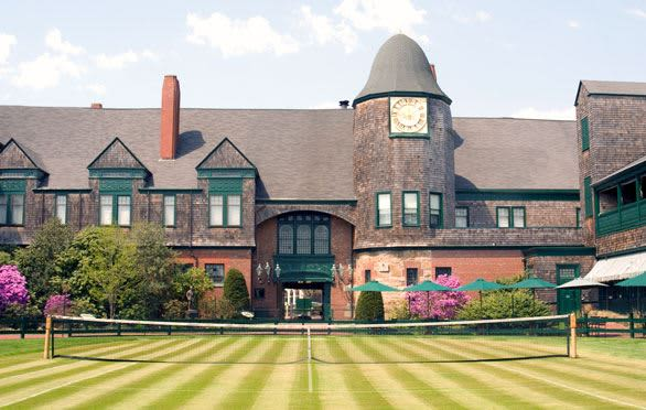 Tennis Hall of Fame In Newport, Rhode Island