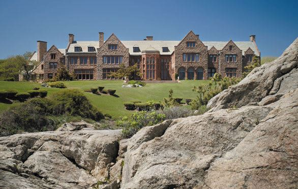 Rough Point Mansion In Newport, Rhode Island