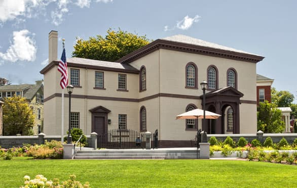 Touro Synagogue In Newport, Rhode Island