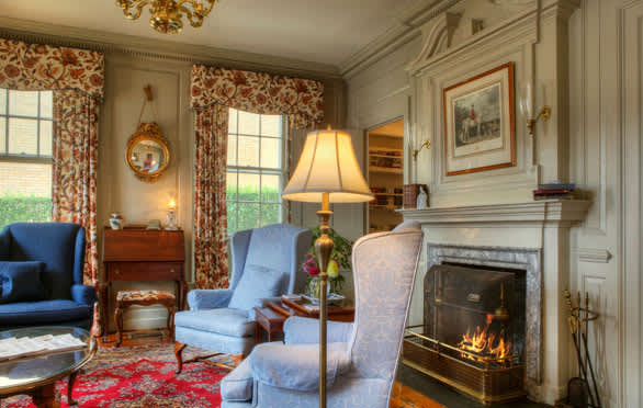 Guest Parlor At The Francis Malbone House, Newport