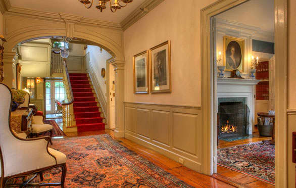 The Francis Malbone House, Newport Grand Foyer