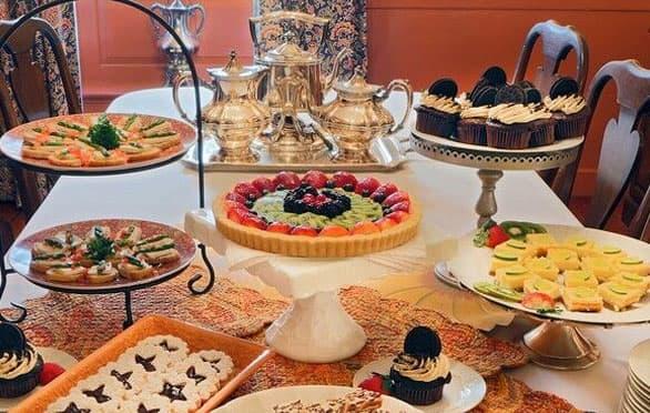 Afternoon Tea At The Francis Malbone Hotel, Newport