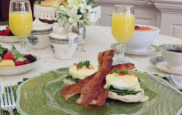 Gourmet Breakfast At The Francis Malbone Hotel, Newport